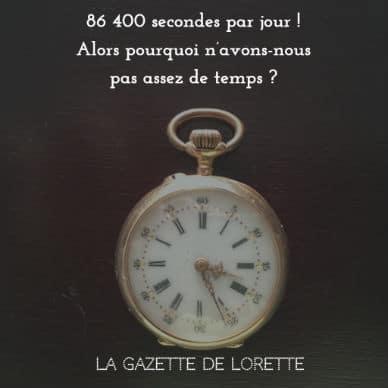 Courir après chaque seconde : et pour combien de temps ?