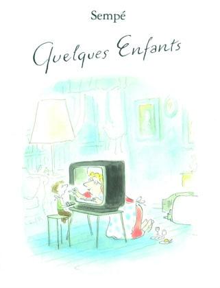 Des illustrations de Sempé drôles et caustiques sur les joies de la vie de famille, coup de cœur de la Gazette de Lorette
