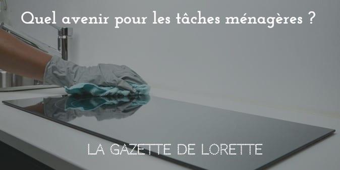 La Gazette de Lorette dévoile une incroyable découverte sur l'avenir des tâches ménagères